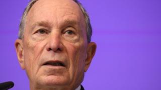 Michael Bloomberg (file pic)